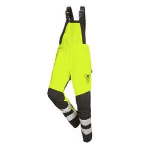 Cotte à bretelles anti-coupure SIP Protection BasePro Hi-Vis jaune