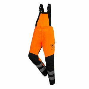Cotte à bretelles anti-coupure SIP Protection BasePro Hi-Vis orange
