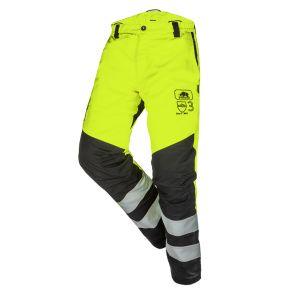 Pantalon anti-coupure SIP Protection BasePro Hi-Vis Classe 3 jaune