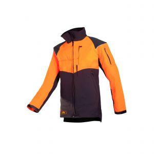 Zaagvest SIP Protection Progress oranje/grijs