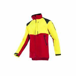 Zaagvest SIP Protection Progress rood/fluo geel