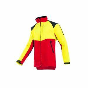 Veste non-protégée Sip Protection Progress rouge/jaune