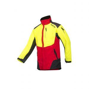 Veste non-protégée SIP Protection W-Air rouge/jaune