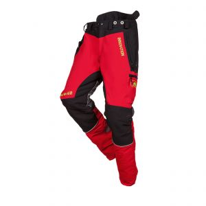 Zaagbroek SIP Protection Forest W-Air rood