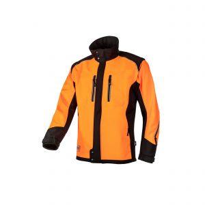 Softshell SIP Protection Fuyu oranje/zwart