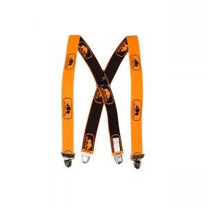 Bretellen met knijpers SIP Protection oranje
