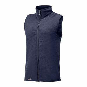 Bodywarmer Woolpower Vest 400 marineblauw