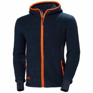 Polaire Helly Hansen Chelsea Hooded Pile Jacket blue marine 72269