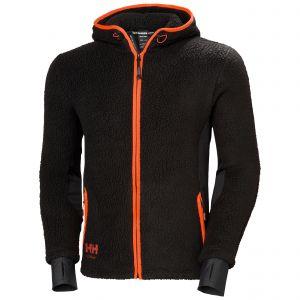 Polaire Helly Hansen Chelsea Evol. Hooded Pile Jacket noir 72269