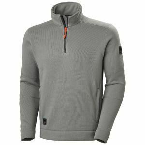 Polaire Helly Hansen Kensington 1/2 Zip Knitted Fleece gris 72251