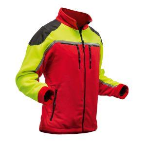 Fleece Pfanner Zipp2Zipp® Jobby rood/geel