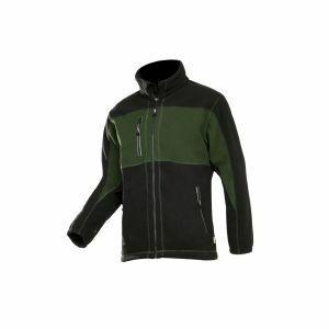 Fleece Sioen Durango zwart/groen