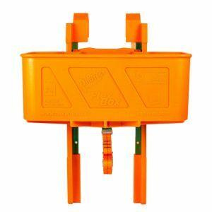 Boîte à outils avec supports de montage Toolprotect FlexBox Solo set