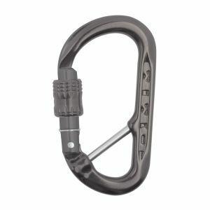 Gereedschapshaak DMM XSRE Lock Captive Bar grijs