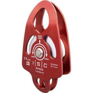Poulie ISC Medium Single Prussik Pulley With Becket 50kN