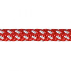 Corde de rappel Teufelberger Fly 11,1mm 1 épissure rouge/blanc