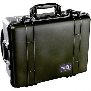 Koffer Peli 1560 met schuimrubber zwart