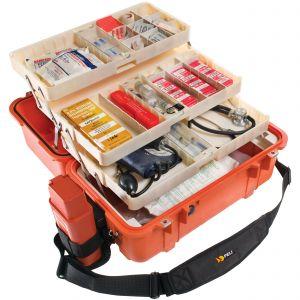 Koffer Peli 1460EMS oranje