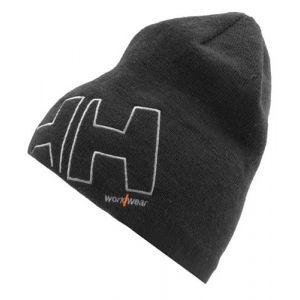 Muts Helly Hansen Beanie logo HH grijs 79830