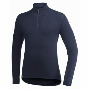 Onderhemd Woolpower Zip Turtleneck 200 marineblauw