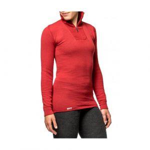 Onderhemd Woolpower Zip Turtleneck 200 rood