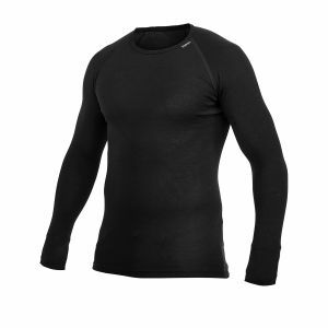 Onderhemd Woolpower Crewneck Lite zwart