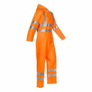 Overall de pluie Sioen Hi-Vis orange