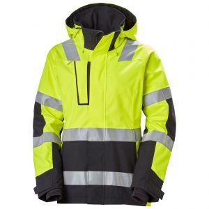 Regenjas Helly Hansen W Luna Hi Vis Shell Jacket geel 71294