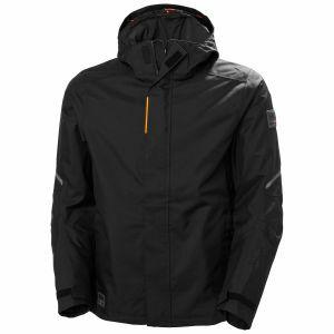 Regenjas Helly Hansen Kensington shell jacket zwart 71080