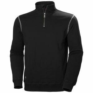 Sweater Helly Hansen Oxford HZ Sweatshirt zwart 79027
