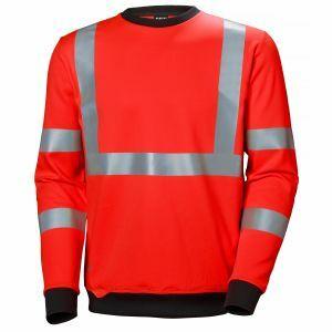 Pull Helly Hansen Addvis Sweatshirt rouge 79095