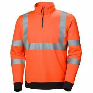 Pull Helly Hansen Addvis Half Zip Sweatshirt orange 79096