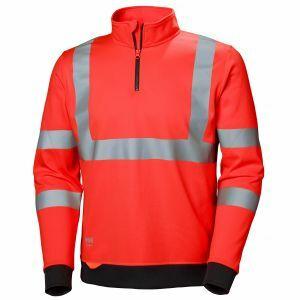 Pull Helly Hansen Addvis Half Zip Sweatshirt rouge 79096
