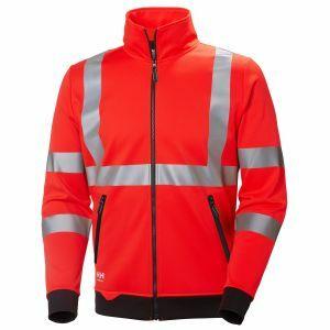Pull Helly Hansen Addvis Zip Sweatshirt rouge 79112