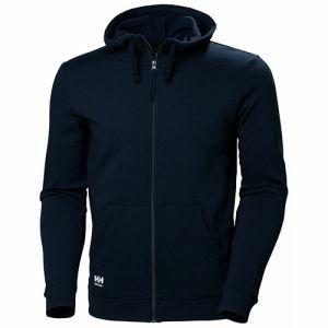 Sweater Helly Hansen Manchester Zip Hoodie marine blauw 79216