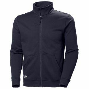 Sweater Helly Hansen Manchester Zip Sweatshirt marine blauw 79212