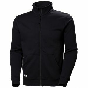 Sweater Helly Hansen Manchester Zip Sweatshirt zwart 79212