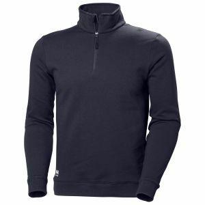 Sweater HellyHansen Manchester Half Zip Sweatshirt marineblauw79210