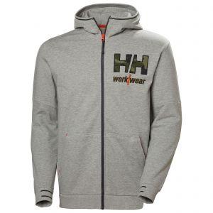 Sweater Helly Hansen Kensington Zip Hoodie grijs/camo 79243