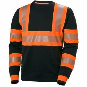 Pull Helly Hansen ICU Sweatshirt noir/orange 79272