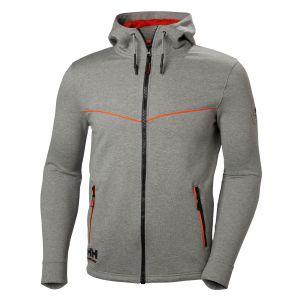 Sweater Helly Hansen Chelsea Evolution Hoodie grijs 79197