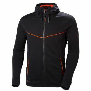 Sweater Helly Hansen Chelsea Evolution Hoodie zwart 79197