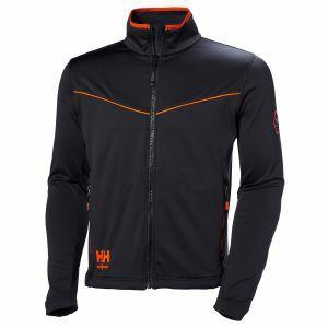 Sweater Helly Hansen Chelsea Evolution Stretch Midlayer zwart 72146