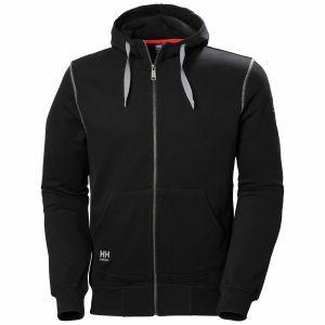 Sweater met kap Helly Hansen Oxford FZ Hoodie zwart 79028
