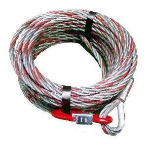 Cable avec crochet TU16 - 20m