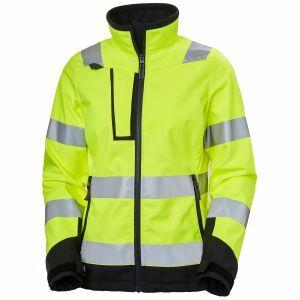 Softshell Helly Hansen Luna HI VIS Softshell Jacket geel 74098