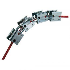 Touwbeschermer Petzl Set Rollmodule P49
