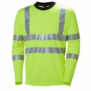 T-Shirt Helly Hansen Addvis Longsleeve geel 79093