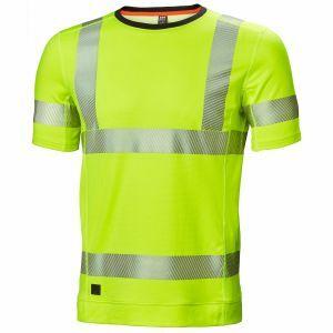 T-Shirt Helly Hansen Lifa Active Hi Vis T-Shirt geel 75113