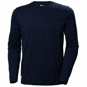 T-Shirt Helly Hansen Manchester Longsleeve blauw 79169